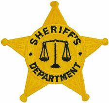 Tactical 365 Operation First Response 5 Point Star Sheriff Duty Emblem Patch