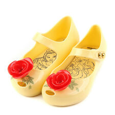 Kid Jelly Shoes Rose Hollow Girl Princess Flat Party Dancing Sandals Cute Summer