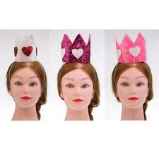 Birthday Glitter Crown Kids Adult Fancy Dress Party Decorations Crown Supplies