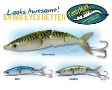 """LIFELIKE CASTING CASTING & SLOW TROLLING LURE BY STS """"CANDY MACK INSHORE"""""""