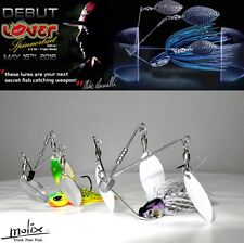 "MOLIX  ""LOVER SPINNERBAIT"" 14g (1/2oz) BY MIKE IACONELLI"