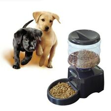 5.5L Automatic Pet Feeder Voice Message Recording LCD Dog Cat Food Dispenser