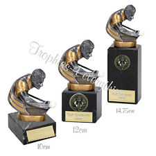 "Pool Snooker Trophy Award 3 Sizes on Marble Bases"" FREE ENGRAVING"""