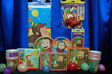 Curious George Party Set # 16 Curious George Party Supplies For 16 Guests