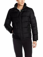 Calvin Klein Jacket Puffer Mens Thick Winter Water Wind Resist L or XL Black NWT