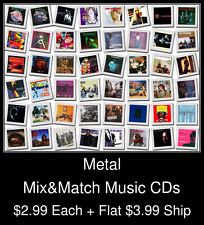 Metal(2) - Mix&Match Music CDs @ $2.99/ea + $3.99 flat ship