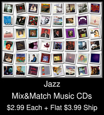 Jazz(3) - Mix&Match Music CDs @ $2.99/ea + $3.99 flat ship