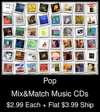 Pop(23) - Mix&Match Music CDs @ $2.99/ea + $3.99 flat ship