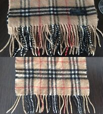 Burberrys of London Authentic Vintage Burberry Scarf 100% Cashmere
