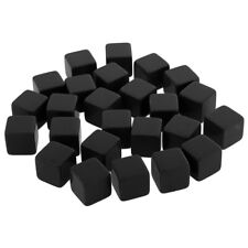 Set/25pcs Blank Dice D6 16mm/0.62'' D&D RPG Boardgame Playing Game Accessory