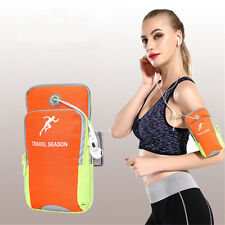 Cycling Running Phone Wrist Pouch Outdoor Sports Mobile Cell Phone Arm Band Bag