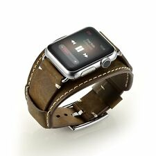 iWatch Genuine Leather Strap Wrist Band Replacement for Apple Watch 42mm / 38mm