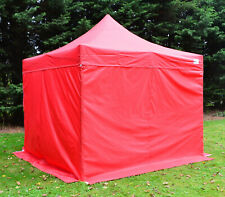 RED Heavy Duty SHOWSTYLE Commercial Grade Gazebo, Market Stall, Pop Up