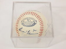 Dodgers Stadium 50th Ann. Baseball Signed (x3) Clayton Kershaw + Ethier+Capuano