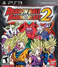 Dragon Ball Z Raging Blast 2 (Sony PlayStation 3, 2010) PS3