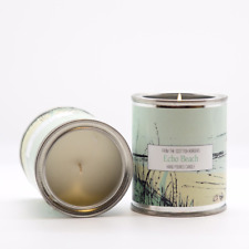 Esscentual Hand Poured Echo Beach Soy Wax Candle Made in Scotland