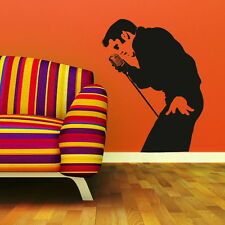 Elvis Presley Wall Sticker Decal Transfers Graphic Stencil Vinyl Decor UK ce6