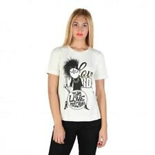 Love Moschino Clothing Women T-shirts White 74763 Deal BDX