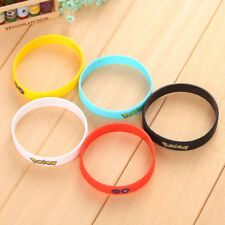 Cute Pokemon Go Wristband Silicone Bracelet Party Gifts Popular Women Jewelry