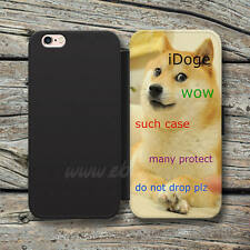 iDoge Shibe Doge Wallet iPhone cases iDoge Samsung Wallet Leather Phone Cases