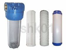 Water filter Pre-filter with without Cartridges Activated carbon