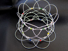 Wire Mandala B006-01 120mm Peace Serenity Healing Artifact Focus Concentration