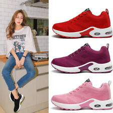 Women Sports Athletic Lace Up Breathable Running Shoes Sneakers Training Shoes