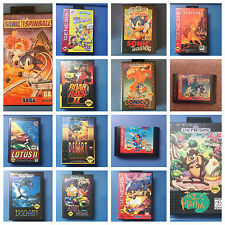 Sega Genesis Video Game >>> Pick Your Game <<<
