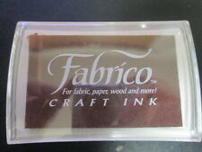 Fabrico Craft Ink-  NEW AND SEALED-  choose a color burgundy, forest, chocolate