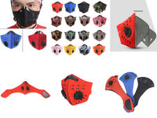 Dustproof Activated Carbon Filter Half Face Mask Running Motorcycle Bicycle