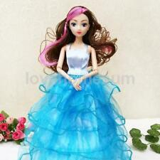 10in Fashion Princess Party Dress Clothes Gown Outfits for Barbie Dolls Gift