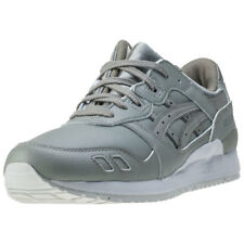 Asics Onitsuka Tiger Gel-lyte Iii Mens Green Leather Casual Trainers Lace-up