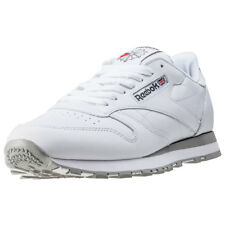 Reebok Classic Leather Mens Trainers White New Shoes