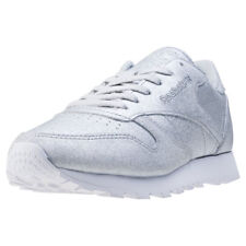 Reebok Cl Met Diamond Womens Trainers Silver New Shoes