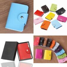 New Mens Luxury Soft Genuine Leather Credit Card Holder, Wallet, Purse