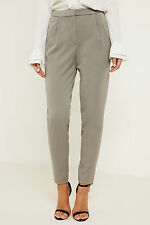 Y.A.S Clady Tapered Leg Trousers with Front Pleats and High Waisted