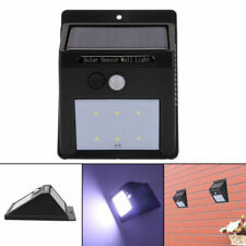 LED Solar Power PIR Motion Sensor Wall Light Outdoor Waterproof Garden Lamp