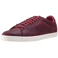 Le Coq Sportif Charline Metallic Ruby Womens Trainers Wine New Shoes