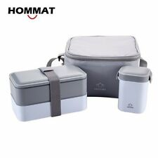 Japanese Bento Lunch Boxes Water Soup Mug Insulated Lunch Cooler Tote Container