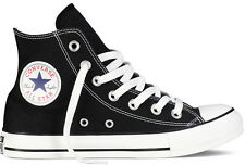 CONVERSE CHUCK TAYLOR ALL STAR HI M9160 -  CLASSIC BLACK WHITE TRAINERS