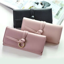 PU Leather Women Lady Clutch Coin Bag ID Credit Card Case Wallet Holder Purse