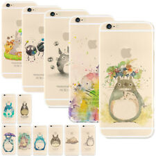 My Neighbor Totoro Anime Cartoon Painted Phone Case Covers For iPhone 5 6/7Plus