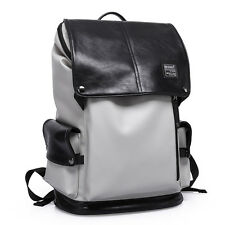 "Men's Fashion Large Backpack Rucksack Students 15.6"" Loptop Book School Bag Pack"