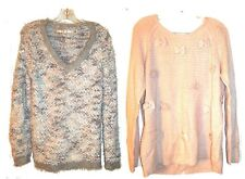 Size M - XXL ~ NWT$54 Lauren Conrad Textured Long Sleeve Sweaters