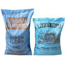 20kg Bags of House Coal & Smokeless Lump Fuel for Open Fire, Stove & Oven