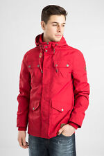 Threadbare Mens Jacket with Front Zip Fastening and Popper Button Pockets