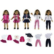Doll Clothes Dress Skirt Tops for 18 Inch American Girl My Generation Doll Accs