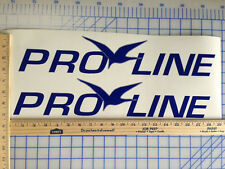 PRO LINE BOAT DECALS 18 COLORS AVAILABLE EMBLEM PAIR HIGHEST QUALITY STICKERS