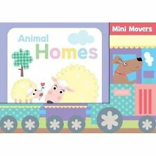 SEALED BOX OF 6 BOARD BOOKS -MINI MOVERS -18 MONTHS+