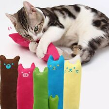 Teeth Pillow For Cat Kitty Pets  Interactive Scratch Kicker Catnip Grinding Toy